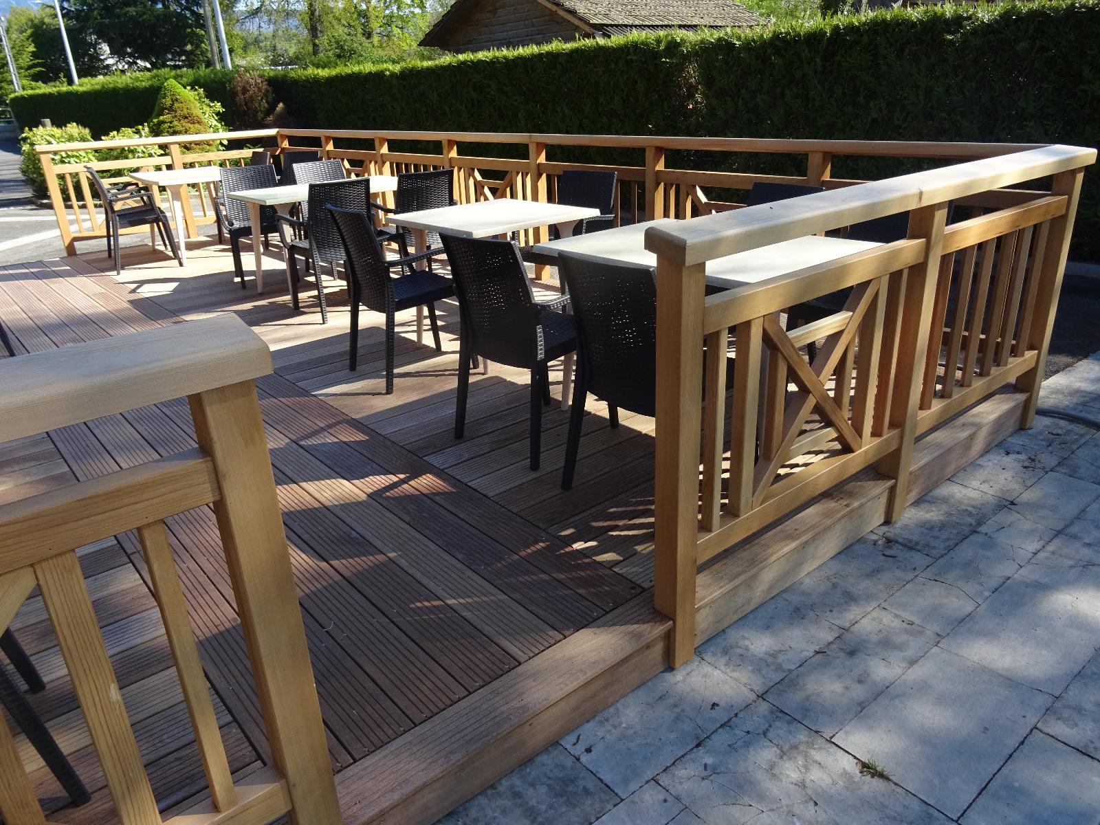 Menuiserie à Boëge, Fabrication de Terrasse en Bois